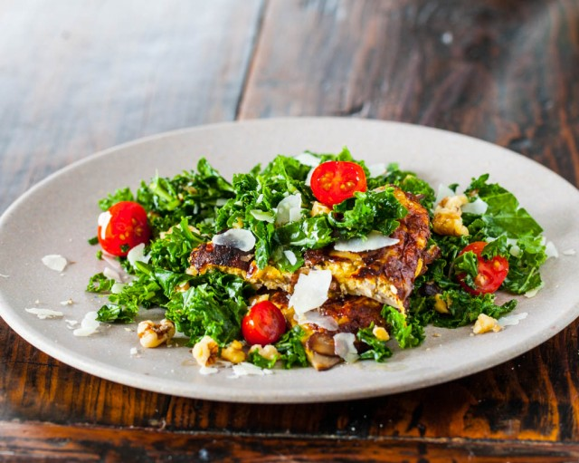 Spicy Kale Salad Recipe